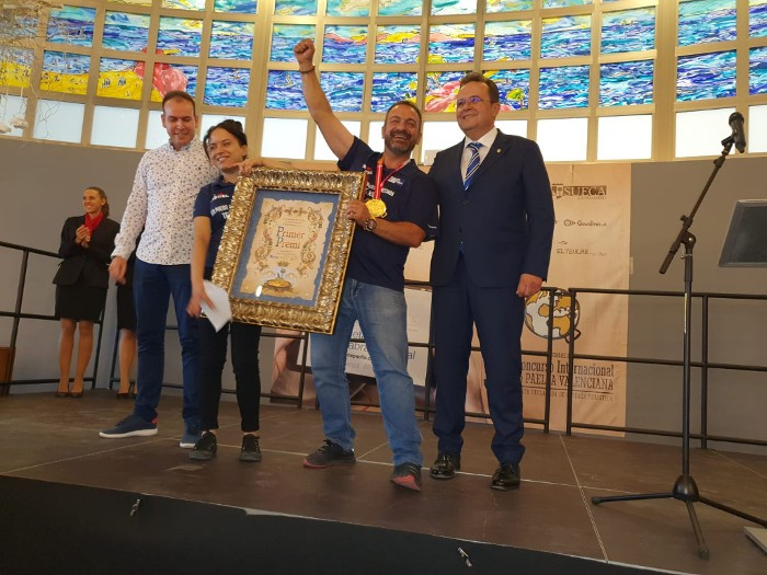 Fuente Cerrada, de Terol, guanya el Concurs Internacional de Paella Valenciana de Sueca