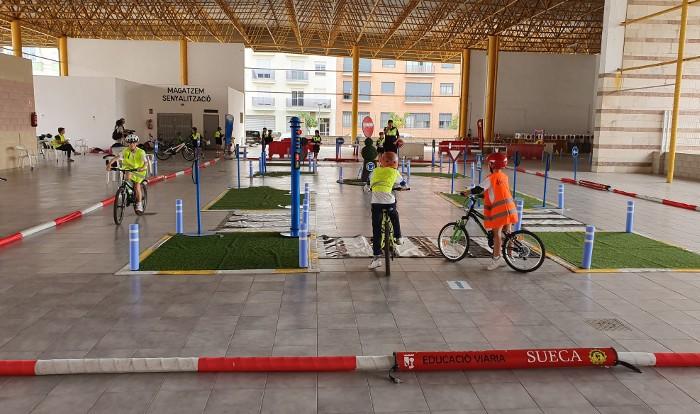 La Policia Local de Sueca comença el curs de Seguretat Viària per als escolars
