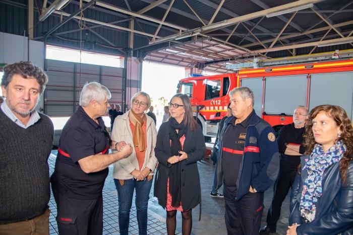 Cullera recollirà les reivindicacions dels bombers per millorar la seguretat ciutadana