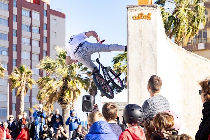 L'Skatepark de Cullera es consolida com un referent de la cultura urbana